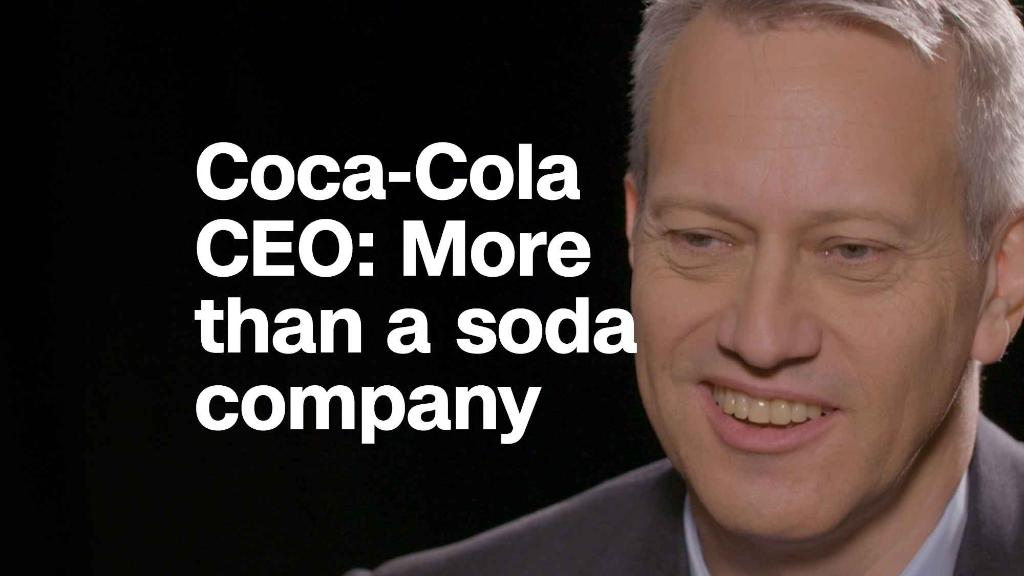 Coca-Cola CEO'We try to be more than a soda company