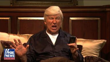Alec Baldwin's Trump returns to get his intelligence briefing from 'Fox & Friends'