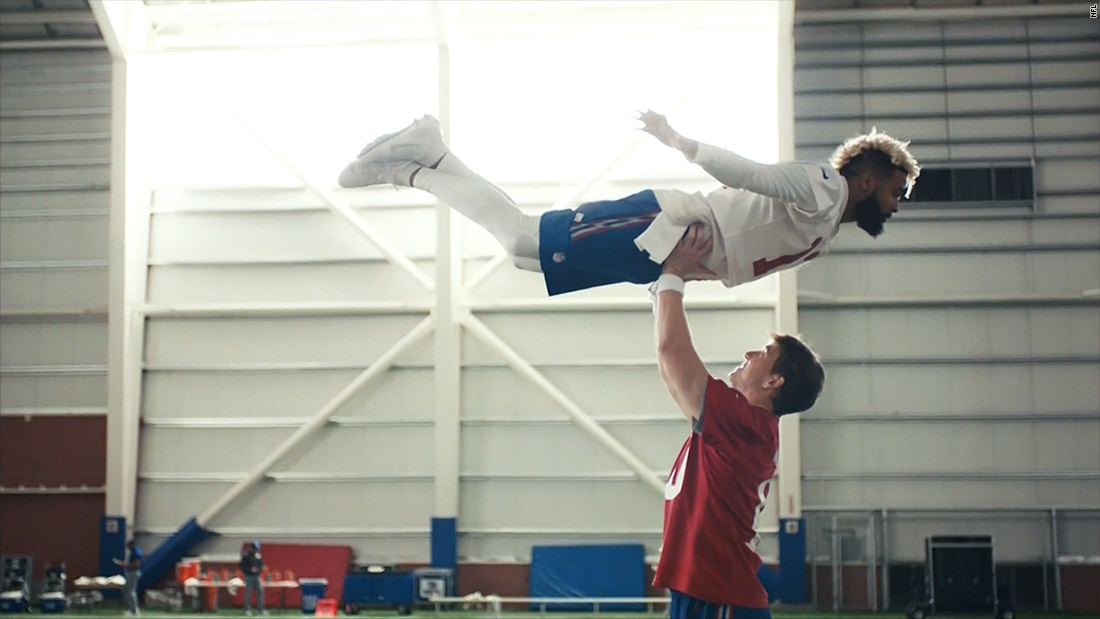 Manning and Beckham sweep Super Bowl off its feet