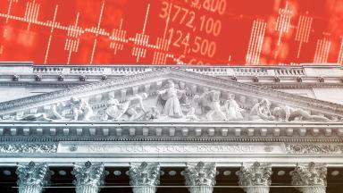 Dow tumbles 425 points