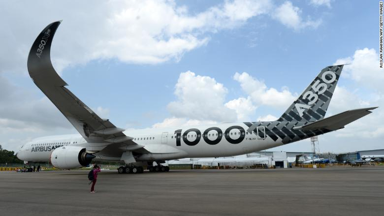 singapore airshow a350