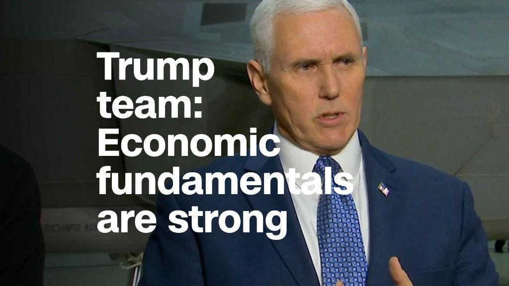 Trump team: Economic 'fundamentals are quite strong'