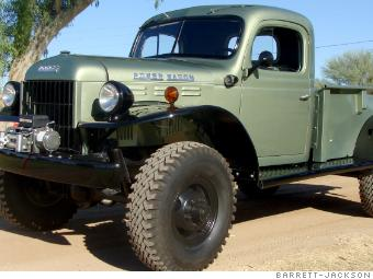 This Customized 1941 Dodge Wagon Sold For 220 000 Truck
