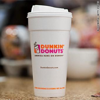 7da222144c4 Dunkin' Donuts pledges to ditch foam cups