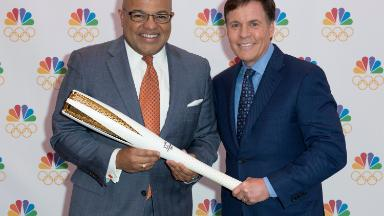 Mike Tirico carries the torch as NBC's Winter Olympics host
