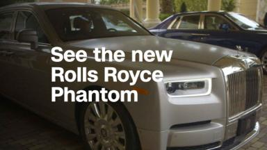 Rolls-Royce redefines comfort in the Phantom