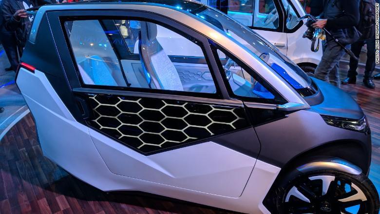 india auto expo electric mahindra