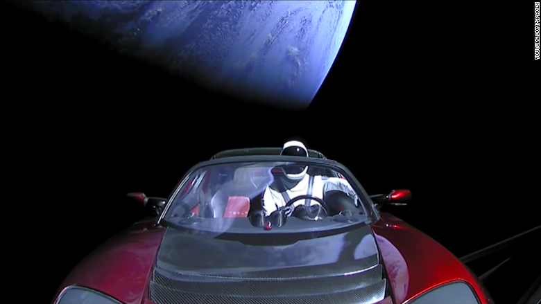 Starman Tesla roadster