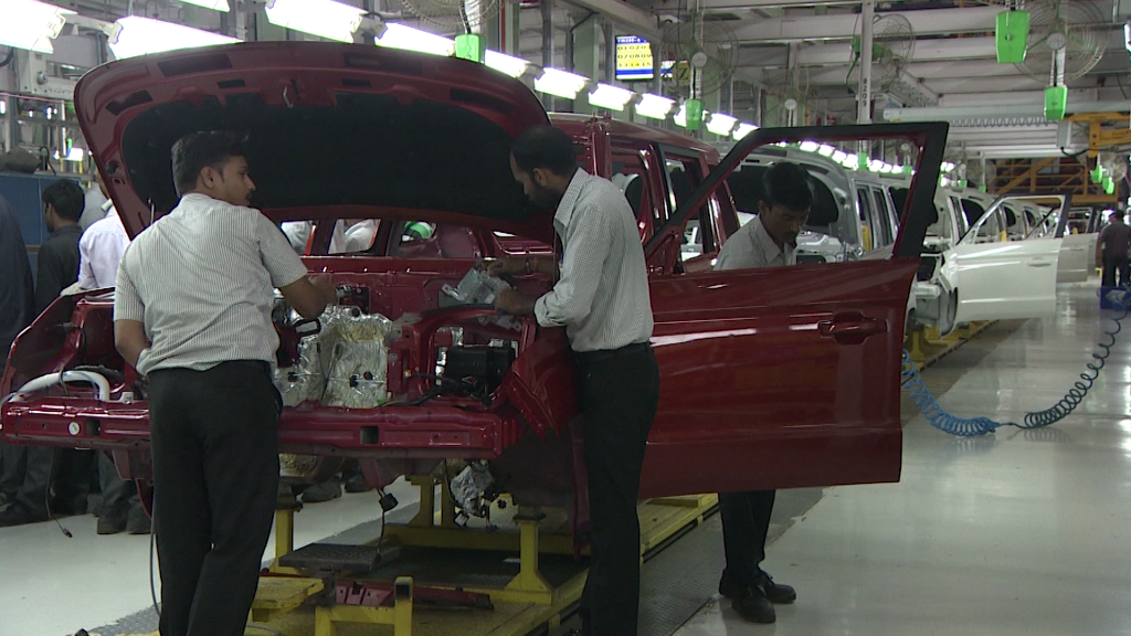 India's booming auto industry