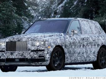 Rolls Royce Names Its First Suv After A Diamond