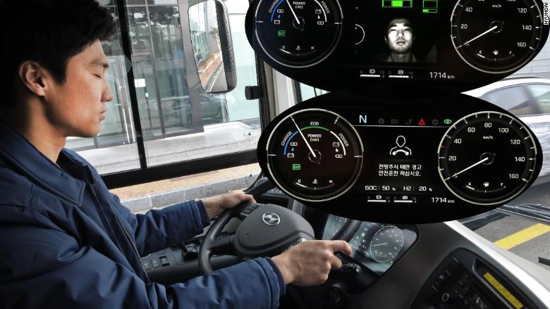 hyundai hydrogen bus