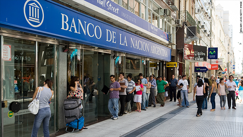 argentina bank strike