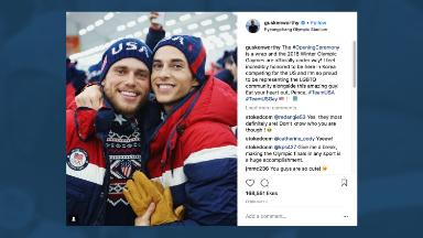 Why gay Olympians Adam Rippon and Gus Kenworthy are marketing gold