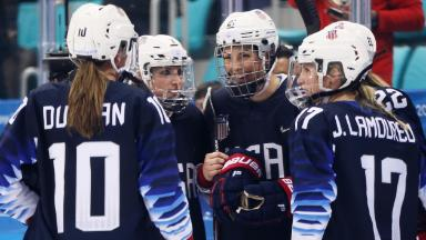 U.S. women's hockey: From fighting for better pay to fighting for gold