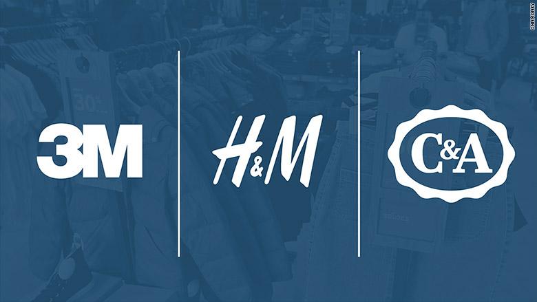3m h&m c&a