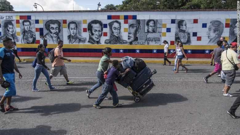 Venezuelan Refugee Crisis Adds To Colombia S Growing