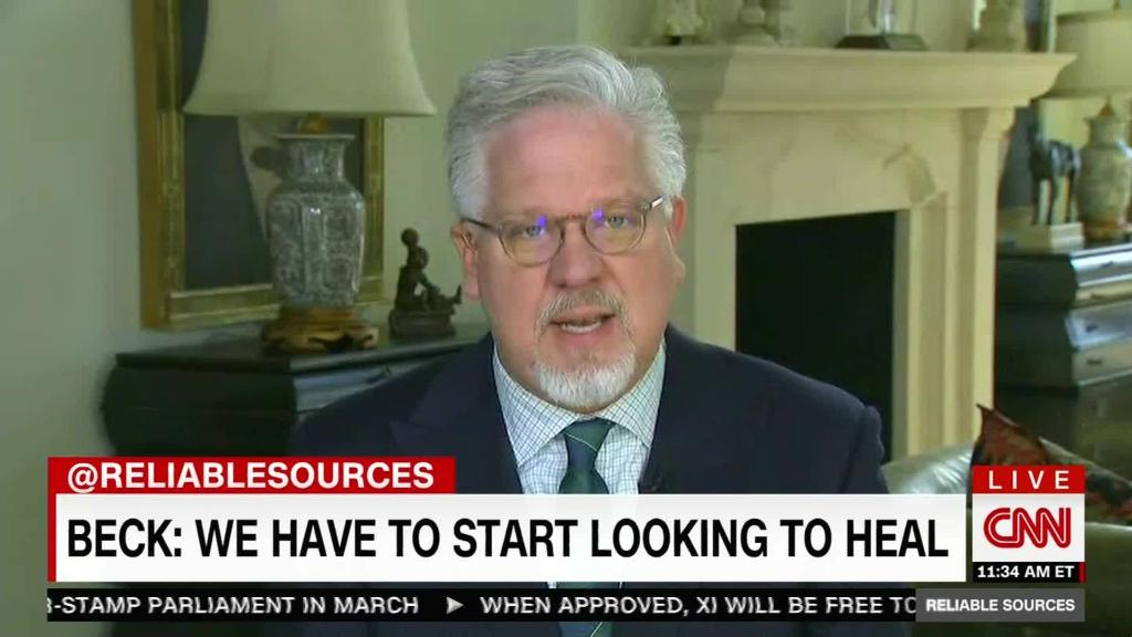 Glenn Beck: 'We have to start looking to heal'