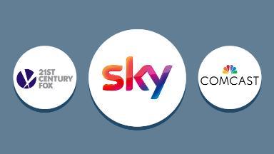 Comcast's surprise Sky bid opens a possible bidding war