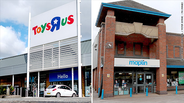 5,300 jobs at risk as two big UK retailers collapse