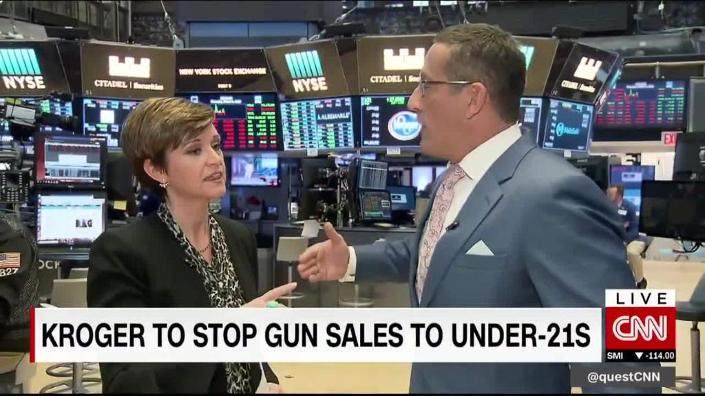 Maggie & Quest: Companies move gun control debate forward