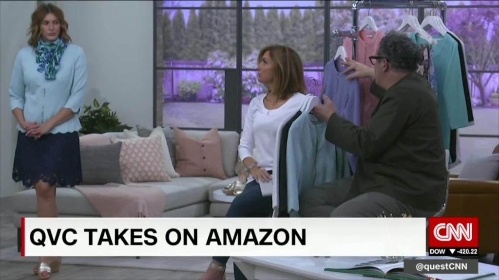 QVC wants to take on Amazon