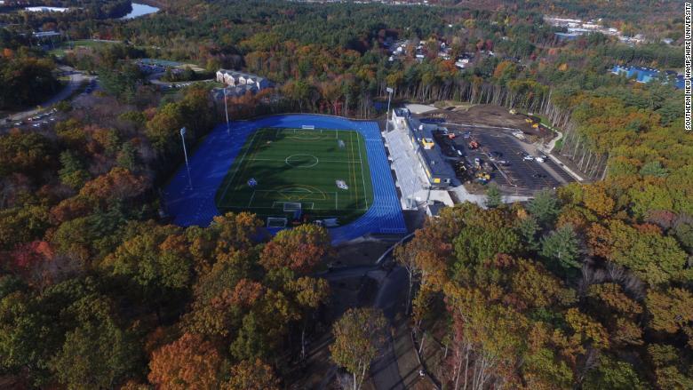 SNH Uuniversity football field