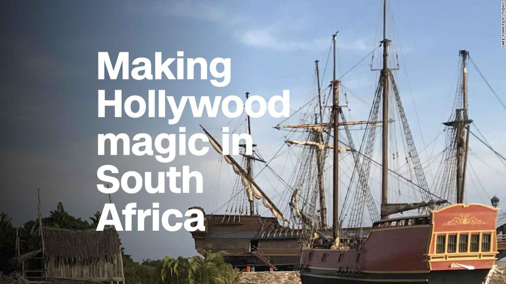 Making Hollywood magic in South Africa