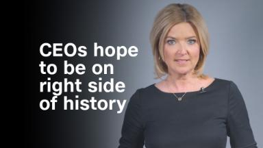 By picking sides, CEOs hope to be on the right side of history
