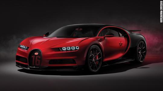 Bugatti reveals $3.4 million Chiron for the race track