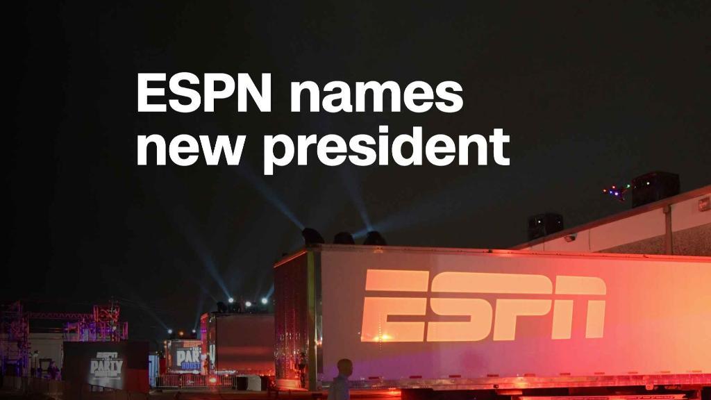 ESPN names new president