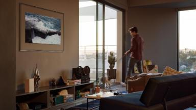 Samsung's new smart TV is a tech chameleon