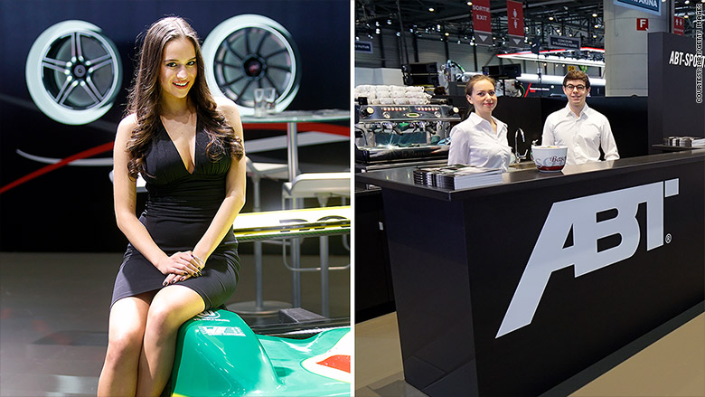 Geneva Motor Show Booth Babes Are Vanishing From Auto Shows - Car show games