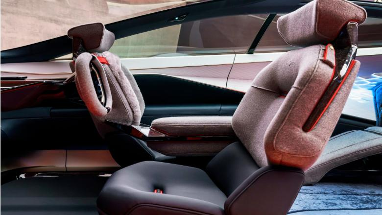 Aston Martin Lagonda Concept Car Interior