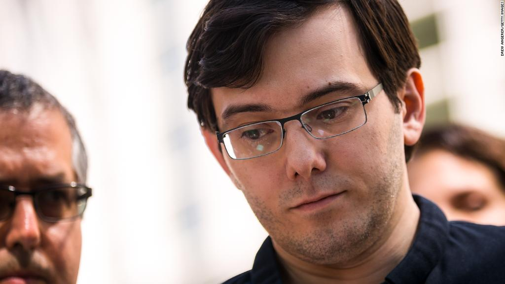 Martin Shkreli sentenced to 7 years in prison for fraud