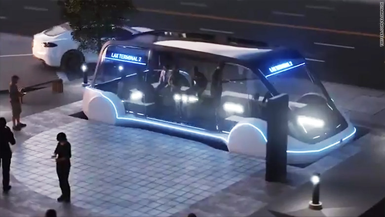 Elon Musk overhauls Boring Company concept to focus on mass transit