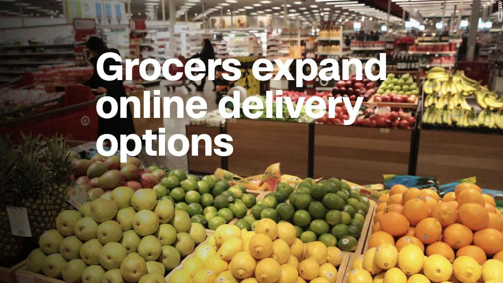How Your Online Grocery Delivery Options Grow