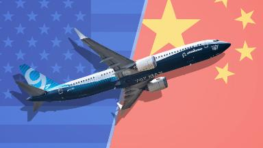 Boeing would be on the front lines of a trade war with China