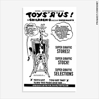 How Toys R Us Went From Big Kid On The Block To Bust