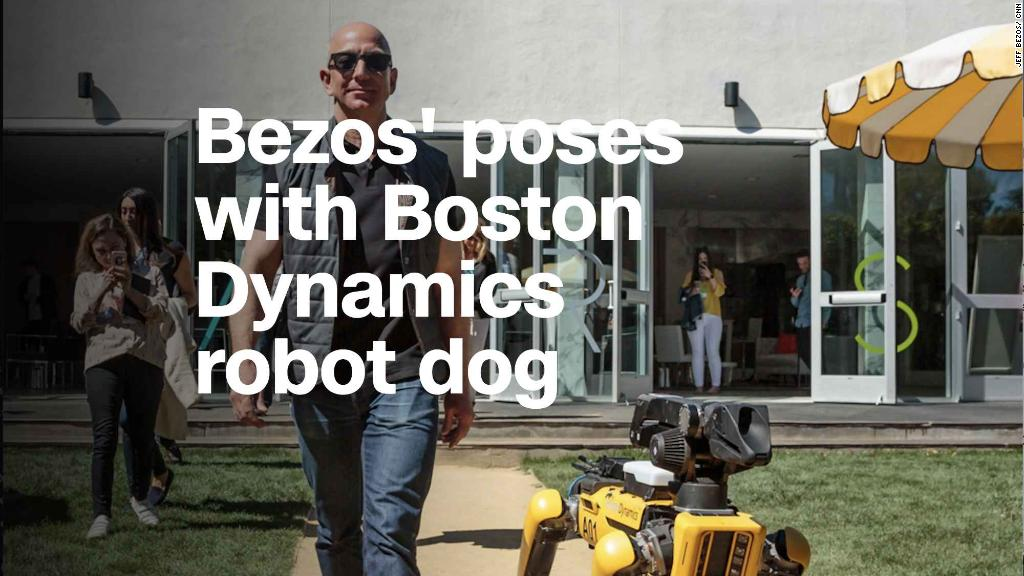 Bezos' new pet: Boston Dynamics' robot dog