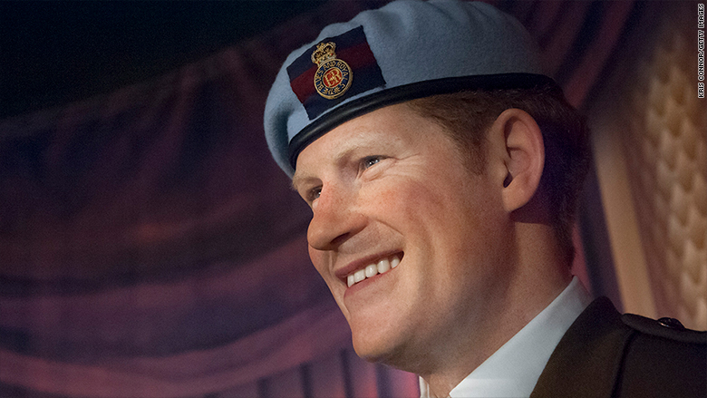 prince harry wax sculpture