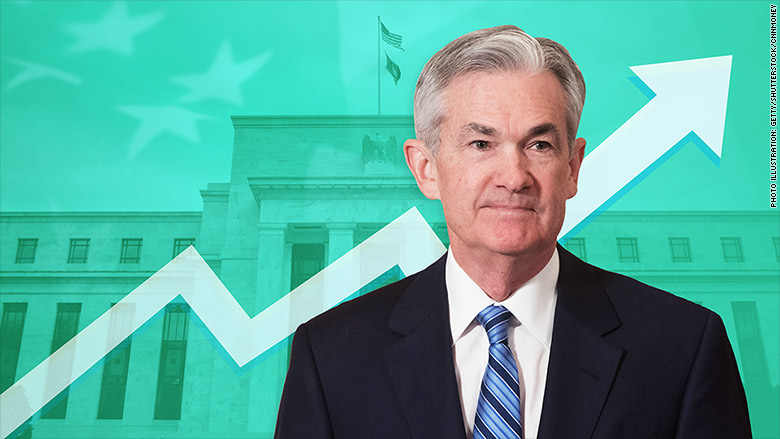 interest rates rise powell