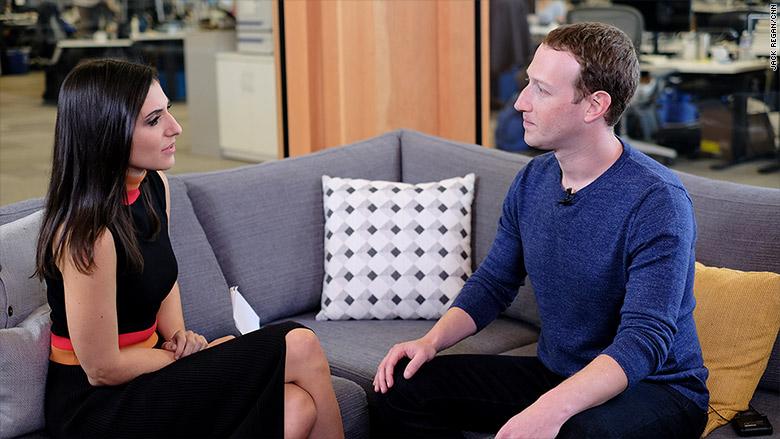 MZ CNN interview laurie mark zuckerberg