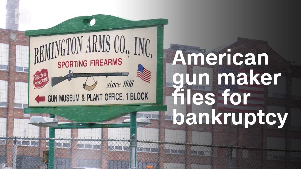 One of America's oldest gun makers files for bankruptcy