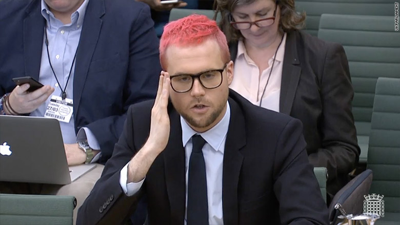 chris wylie parliament live