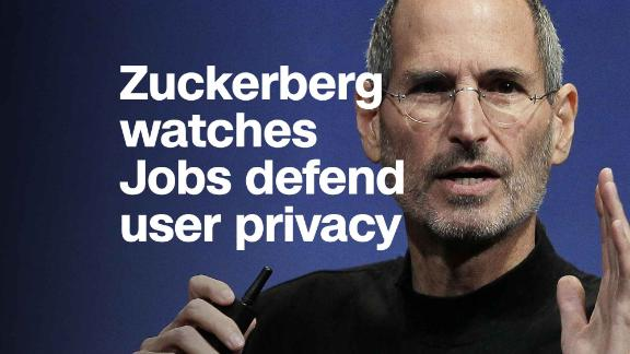 Steve Jobs warned about privacy issues in 2010. Mark Zuckerberg was in the audience