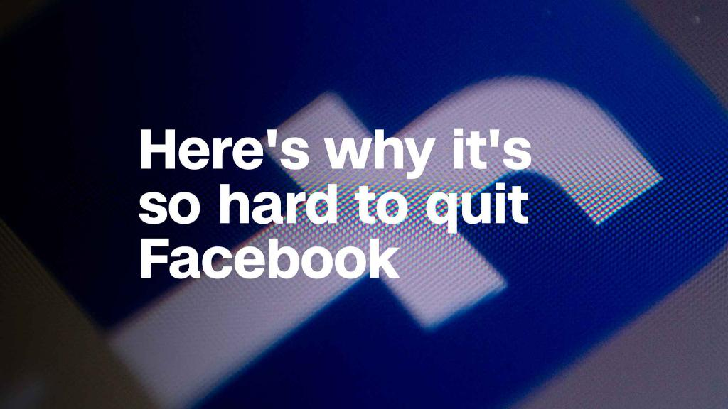 Here's why quitting Facebook is so hard