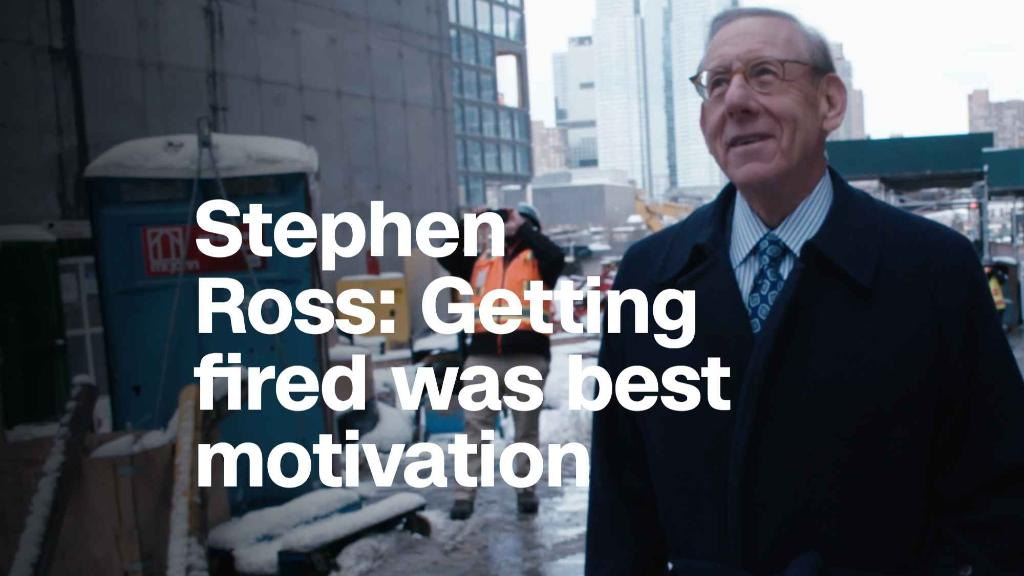 Stephen Ross: Getting fired was best motivation