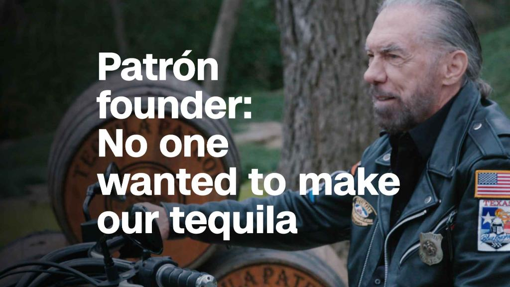 Patr?n founder: No one wanted to make our tequila