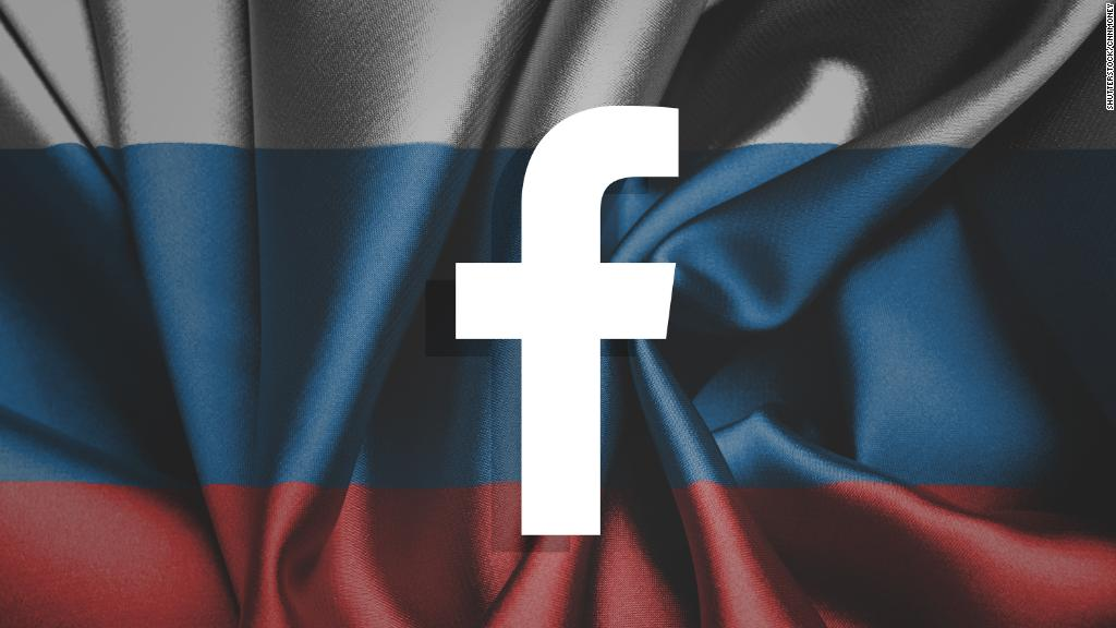 Facebook takes down suspected Russian network of pages