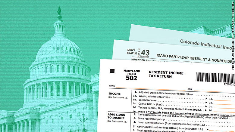 state taxes federal tax reform